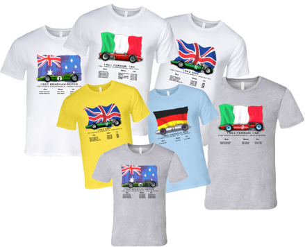 Grand Prix Heritage Shirts